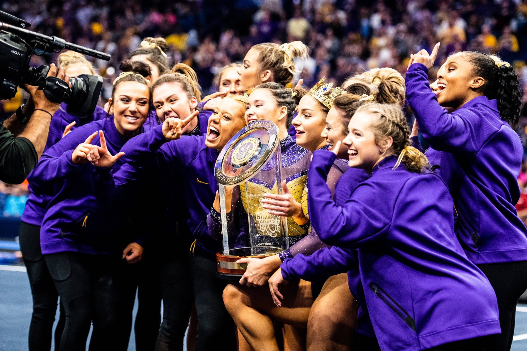LSU Gym wins third-straight SEC Championship