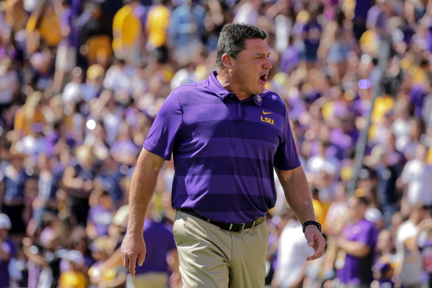 Quotes from Ed Orgeron's spring practice presser