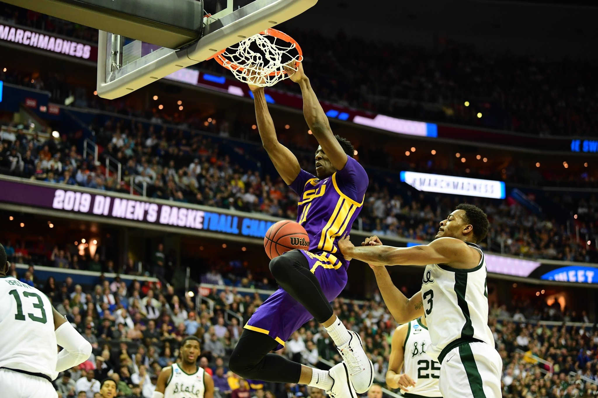 LSU's historic season ends with loss in Sweet 16
