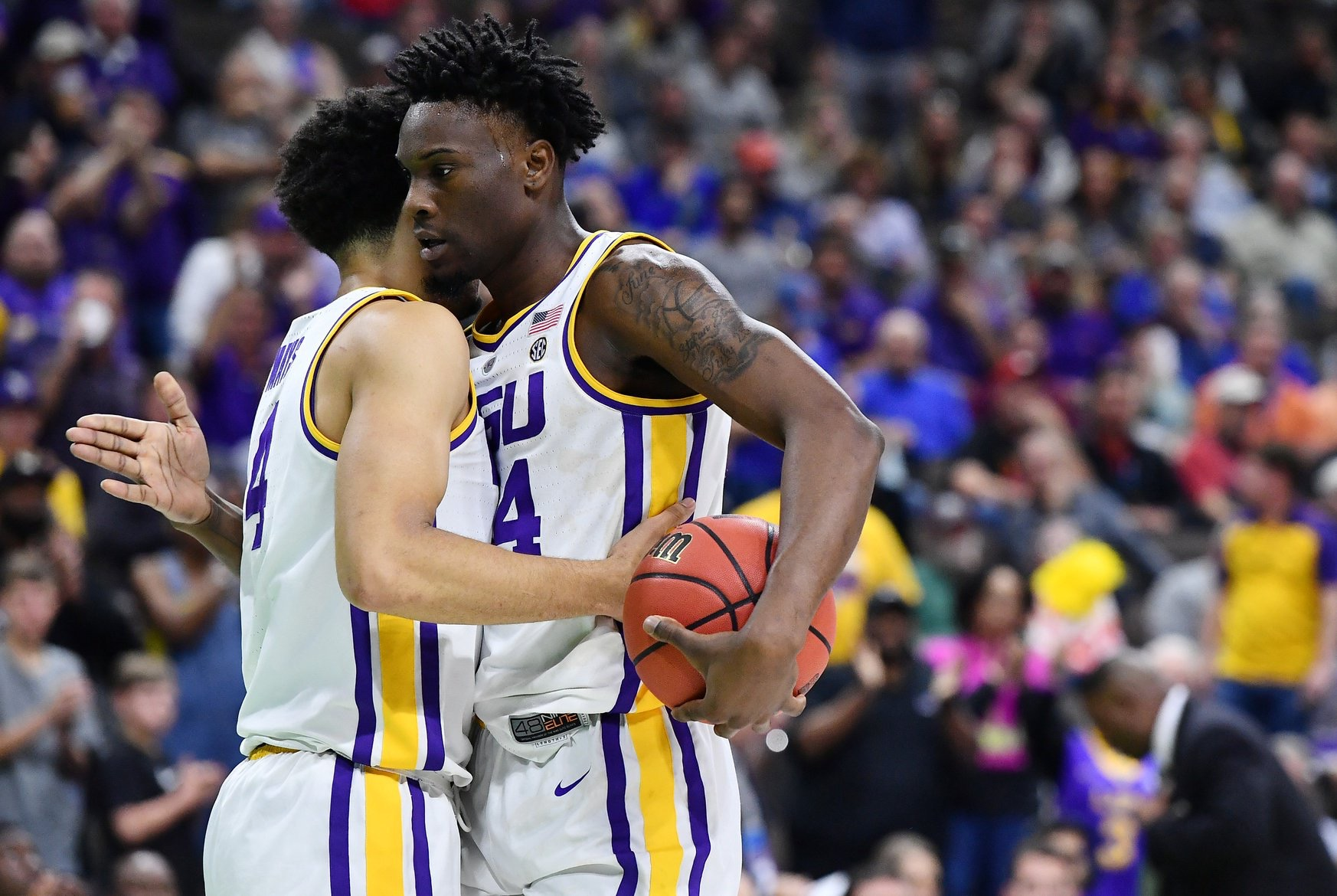Watch: Highlights from LSU's 79-74 win over Yale