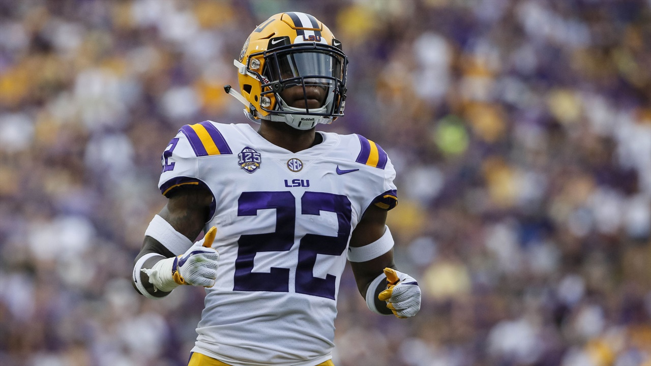 LSU cornerback Kristian Fulton returns to practice