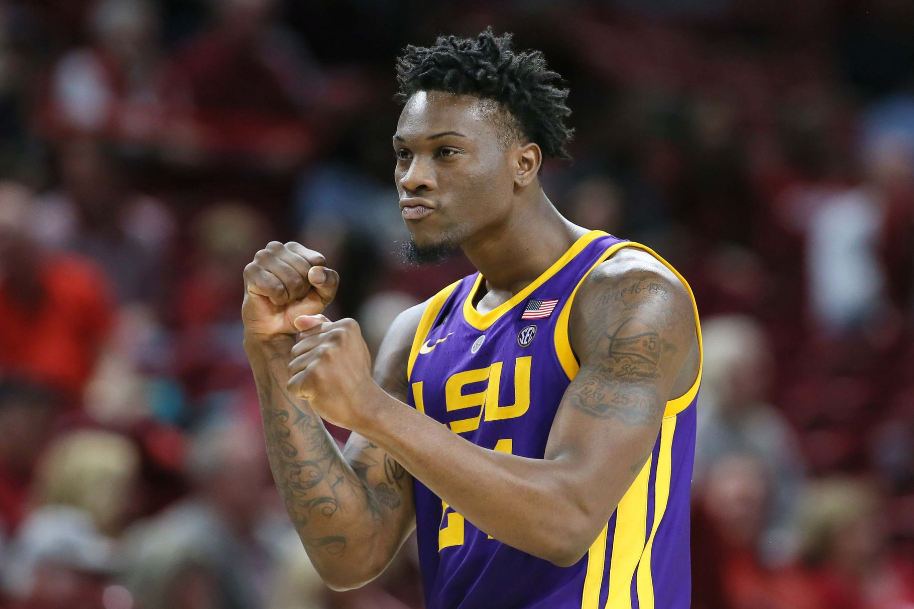 LSU the No. 1 seed in this week's SEC Tournament