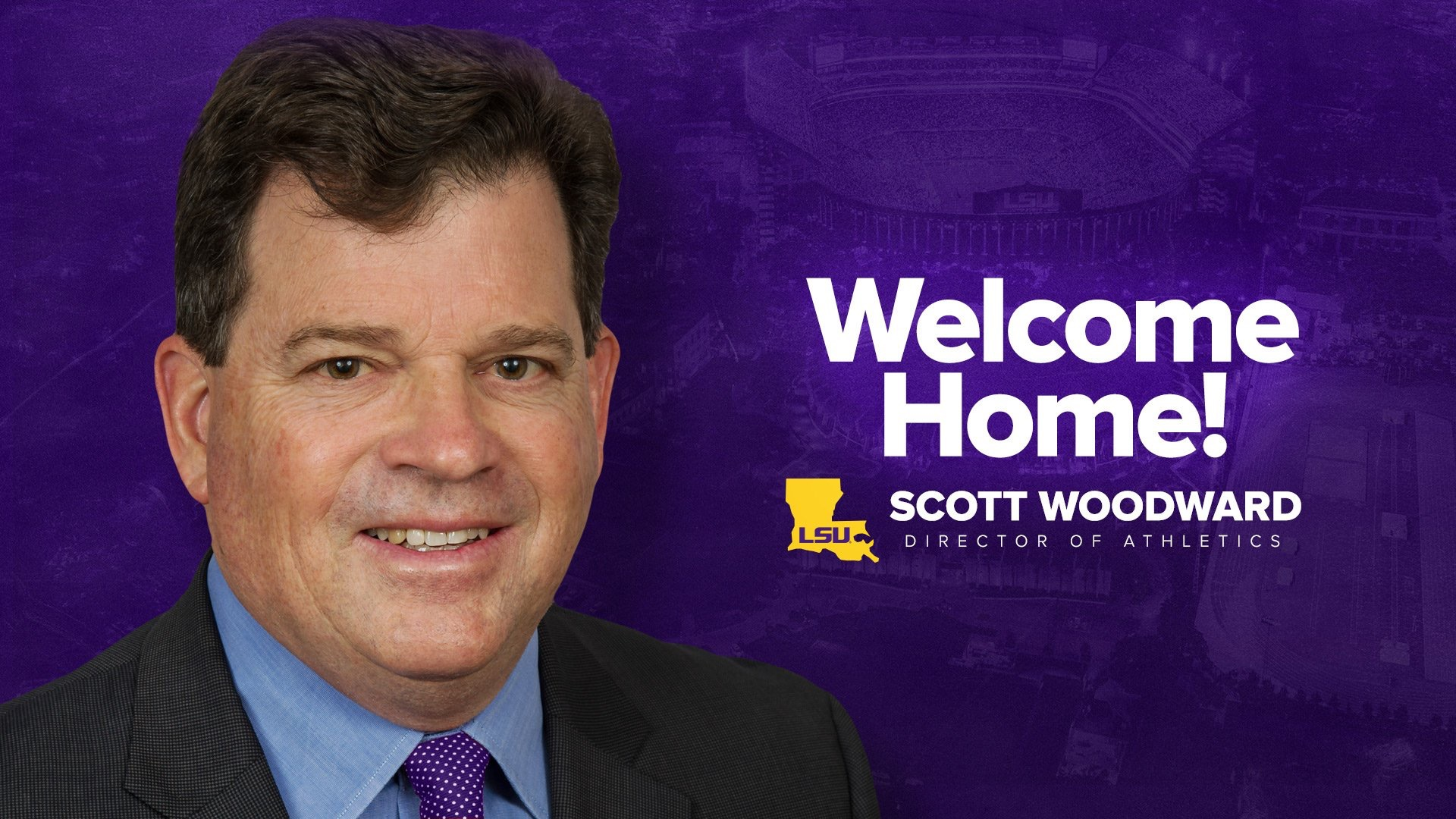 LSU names Scott Woodward Director of Athletics