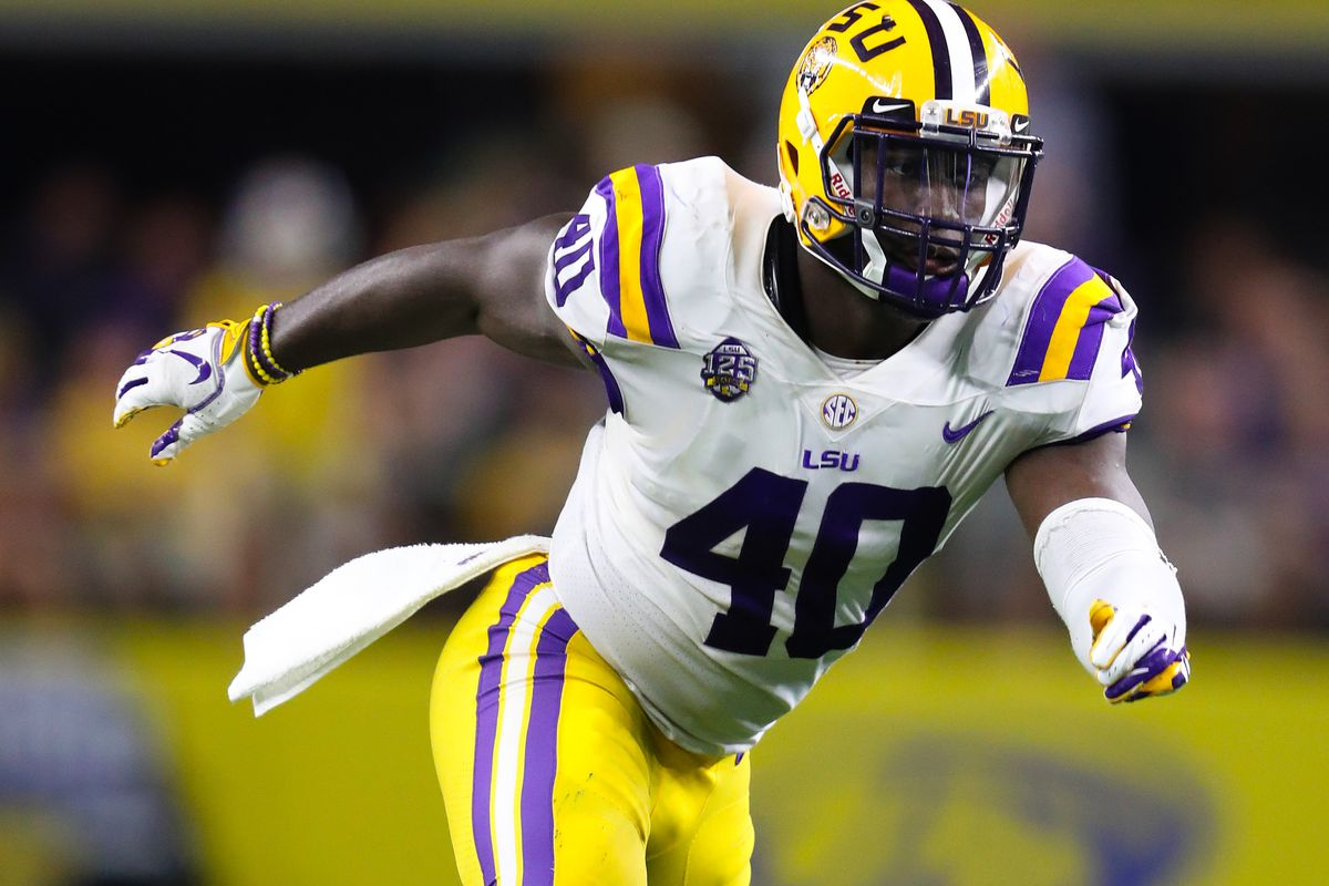 LSU's Devin White knew he was heading to Tampa