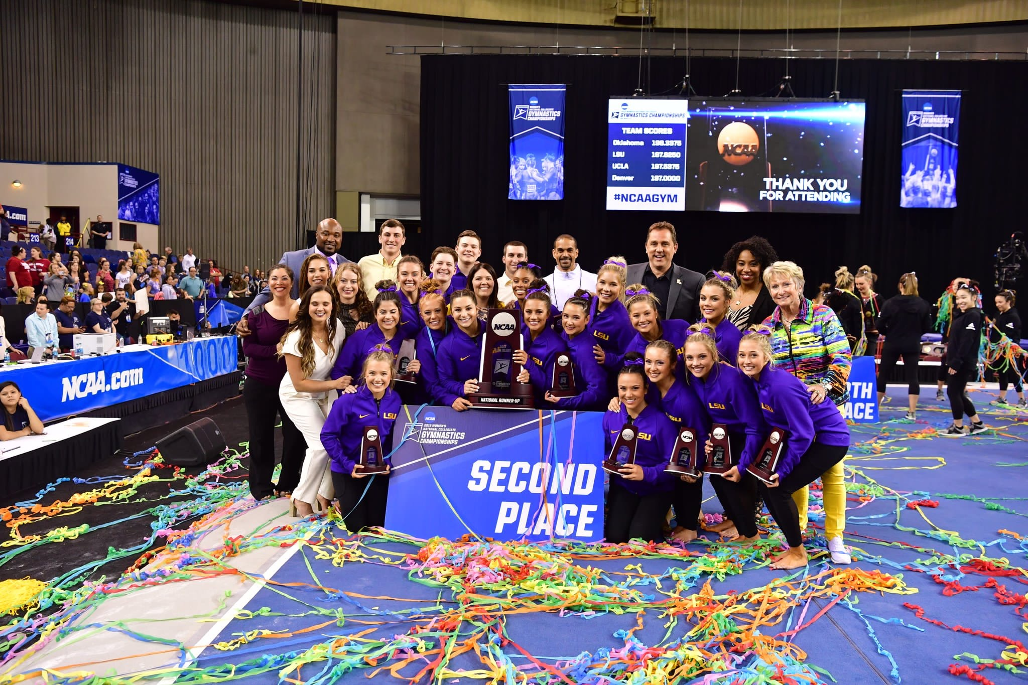 LSU Gym finishes as NCAA National Runner-Up