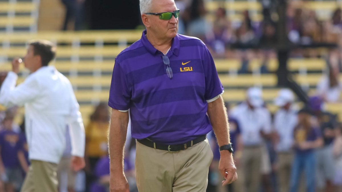 LSU OC Steve Ensminger talks relationship with Joe Brady