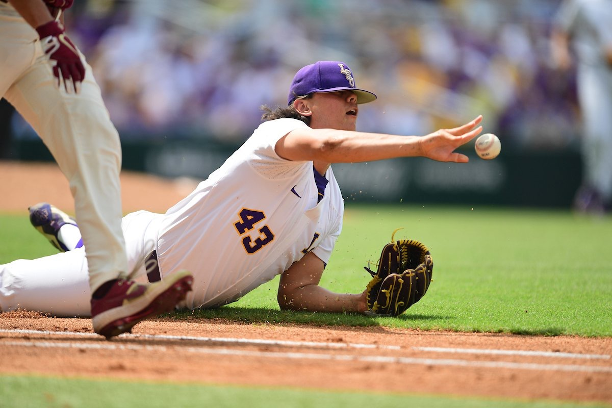 LSU blows four-run lead in loss to Florida State