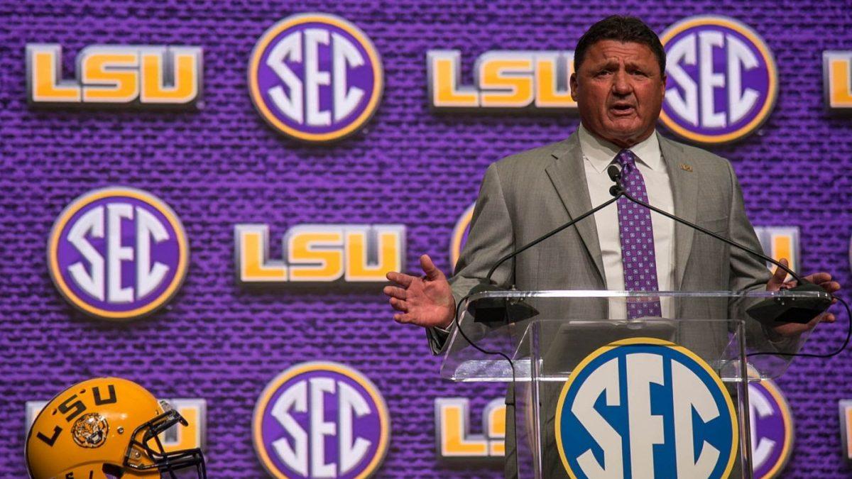 LSU announces SEC Media Days attendees