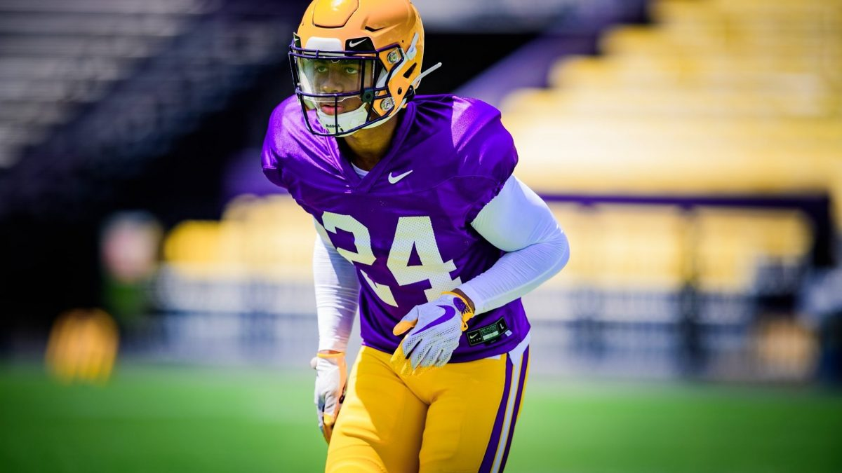 LSU holds first preseason scrimmage