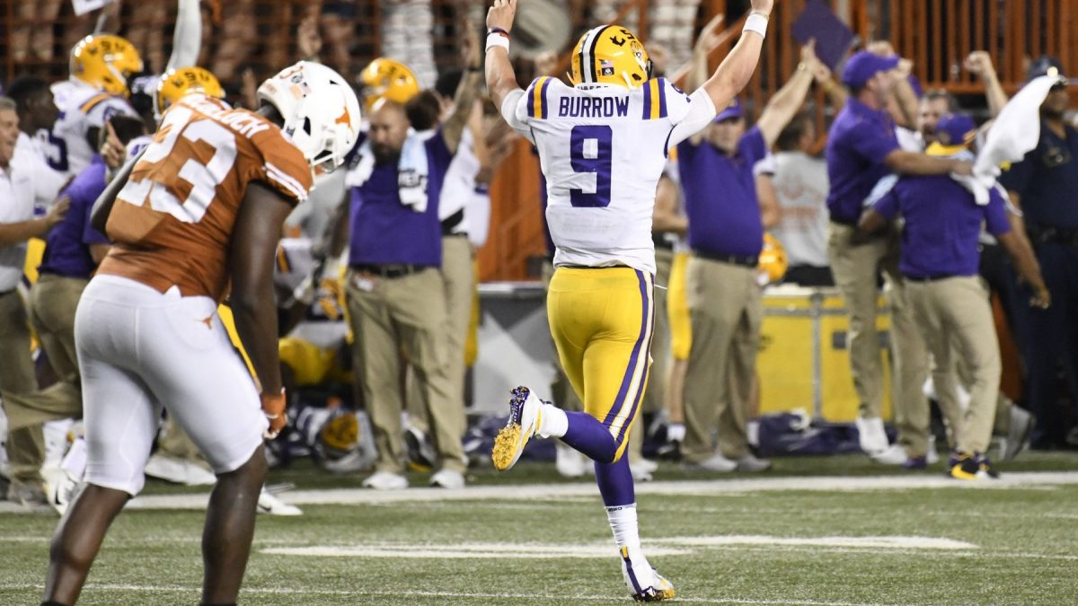LSU jumps to No. 4 in AP Poll following win vs. Texas