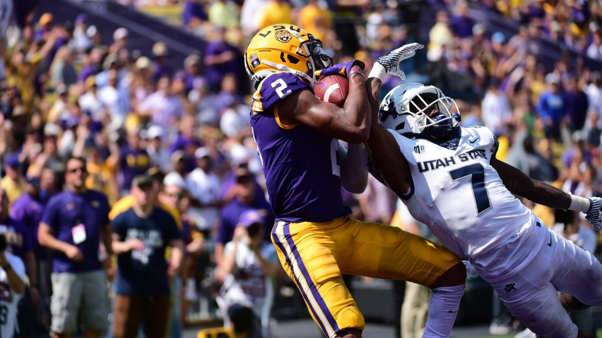 LSU defense rebounds, offense continues to shine vs. Utah State