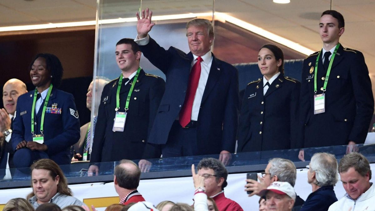 Report: President Trump planning to attend LSU-Alabama game