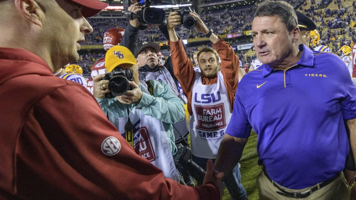 Everything Ed Orgeron said at his Monday SEC Championship luncheon