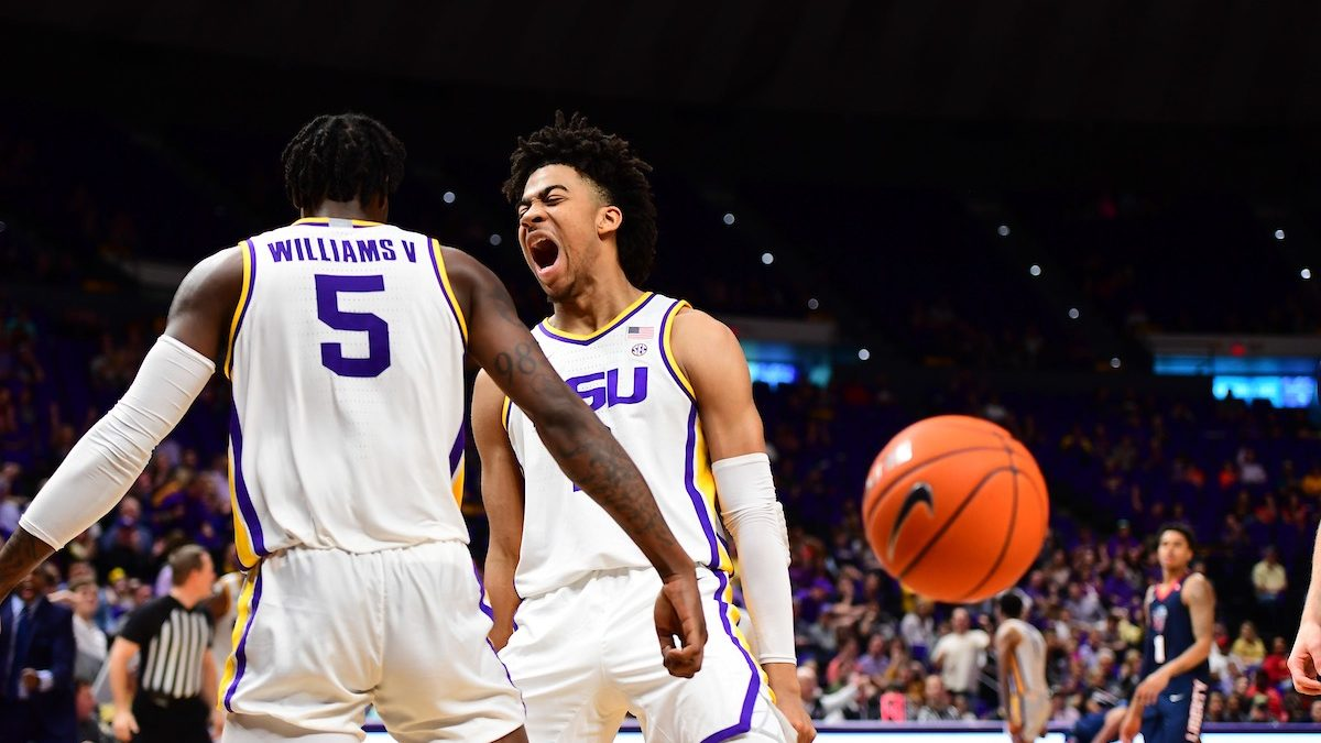 LSU hands Liberty first loss in impressive 74-57 win