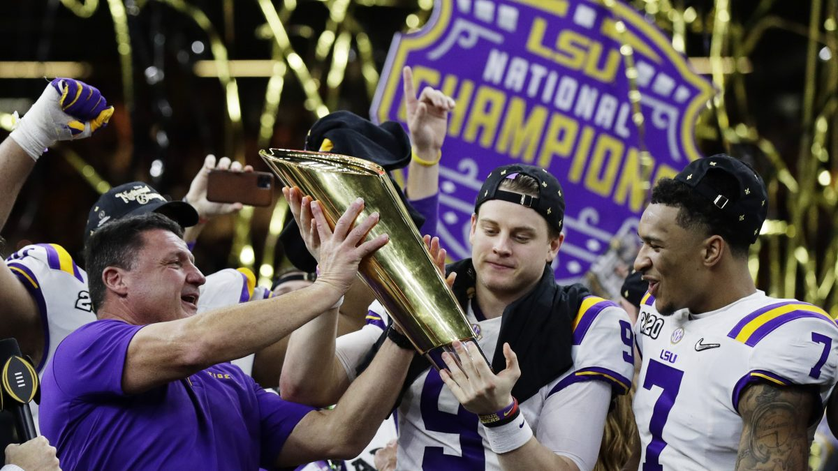 CHAMPS! LSU defeats Clemson to capture fourth-ever National Championship
