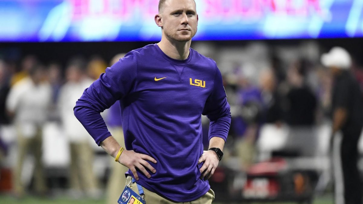 Report: LSU's Joe Brady agrees to three-year contract extension