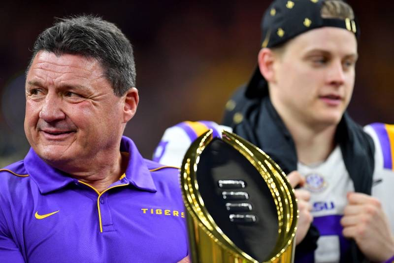 LSU's Ed Orgeron agrees to 6-year contract extension