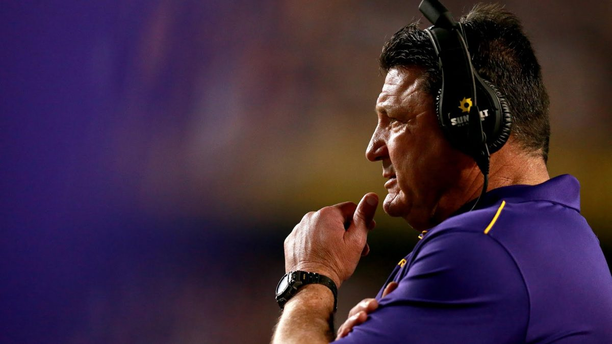 Ed Orgeron previews Clemson at Wednesday post-practice presser