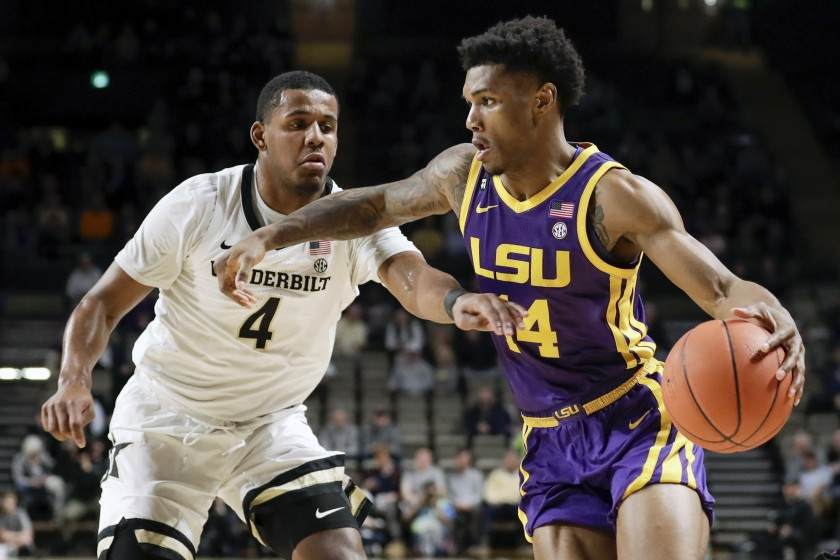 LSU upset by Vanderbilt to snap 10-game winning streak