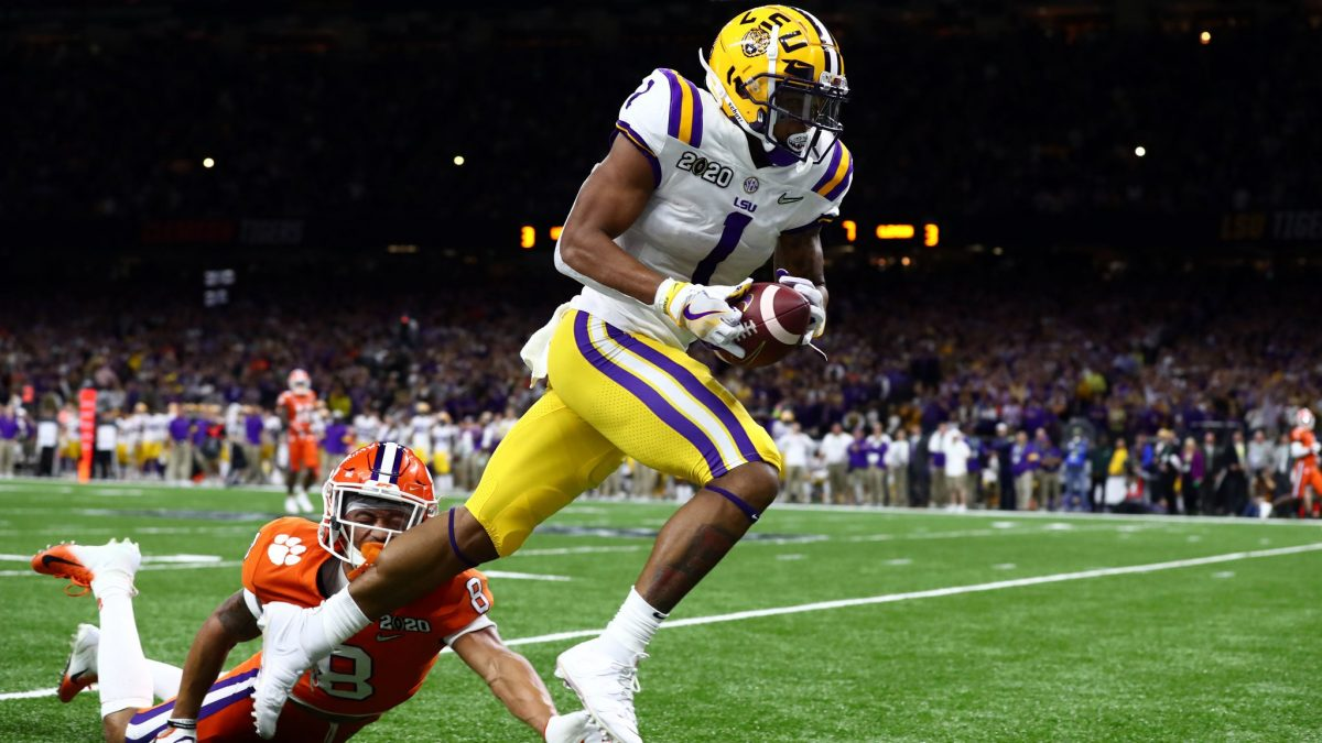 Ja'Marr Chase to wear heralded No. 7 for LSU in 2020