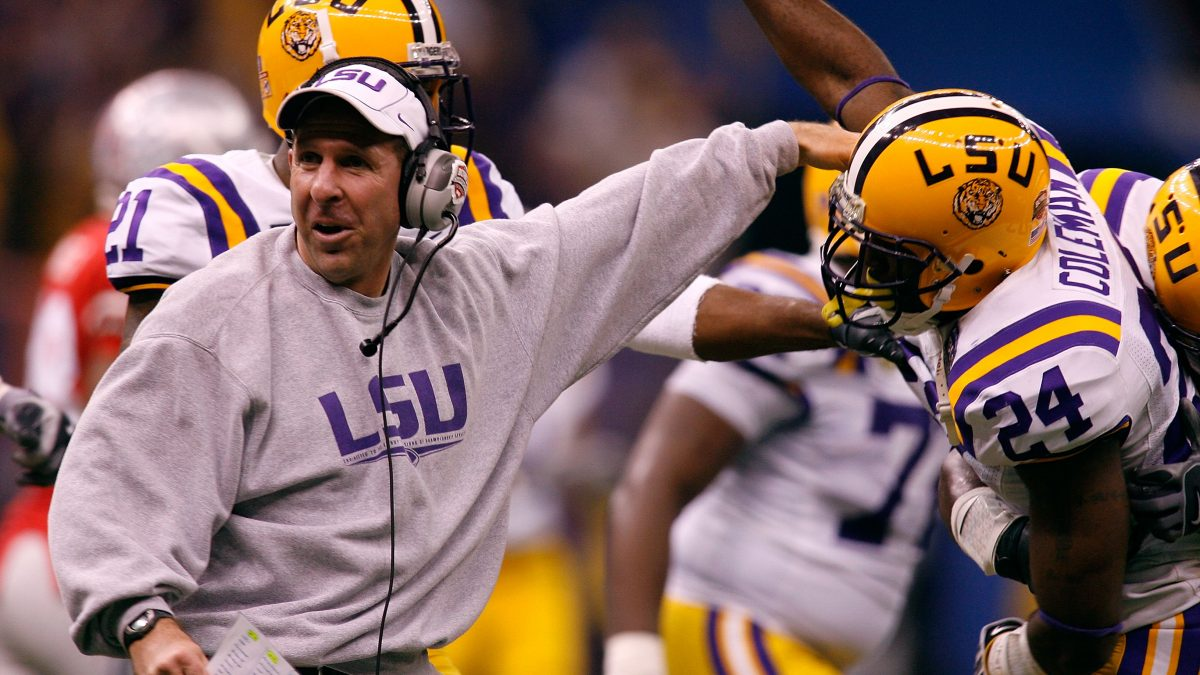 New LSU defensive coordinator Bo Pelini makes first media appearance