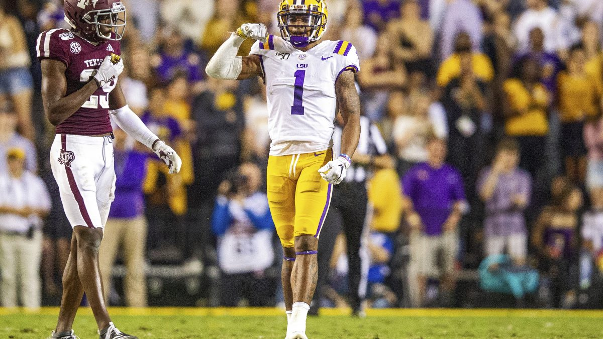 For Ja'Marr Chase, the No. 7 represents a new challenge that excites him