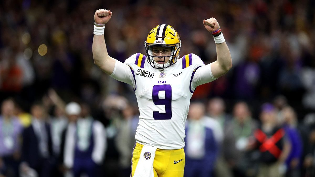 Joe Burrow named SEC Male Athlete of the Year by league's athletic directors