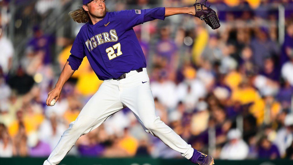 Matthew Beck earns No. 8 jersey for LSU baseball in 2021
