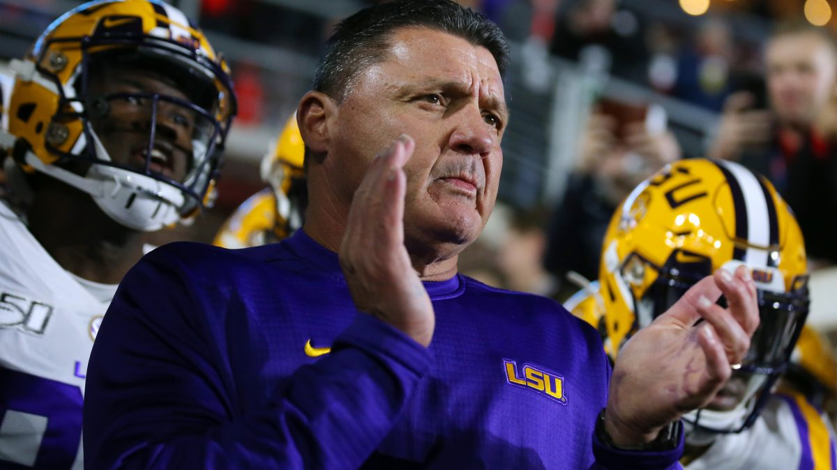 LSU lands commitment from four-star 2022 DT Shone Washington