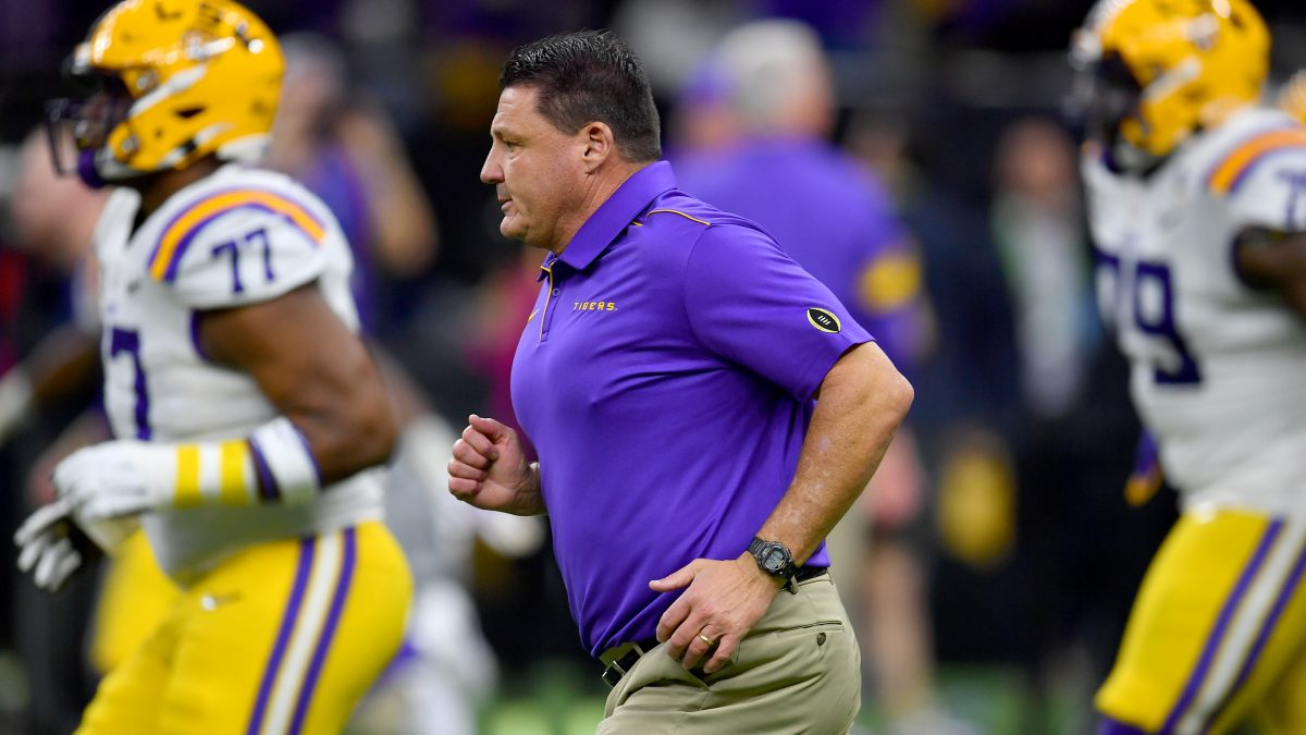 LSU still among favorites in latest national title odds