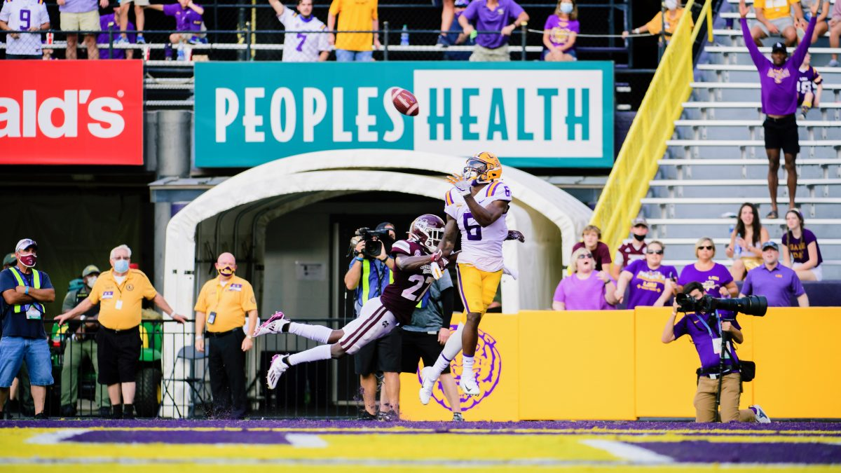 LSU's inexperience exposed in 44-34 loss to Mississippi State