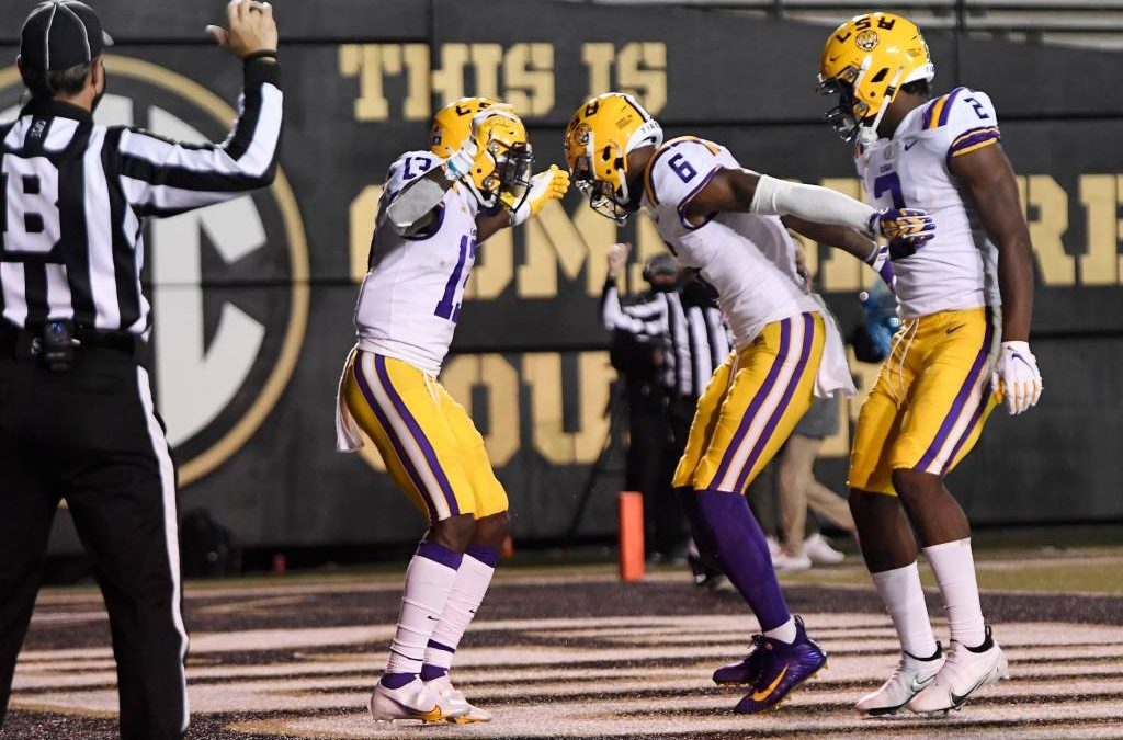 LSU moves up to No. 17 in latest AP Poll