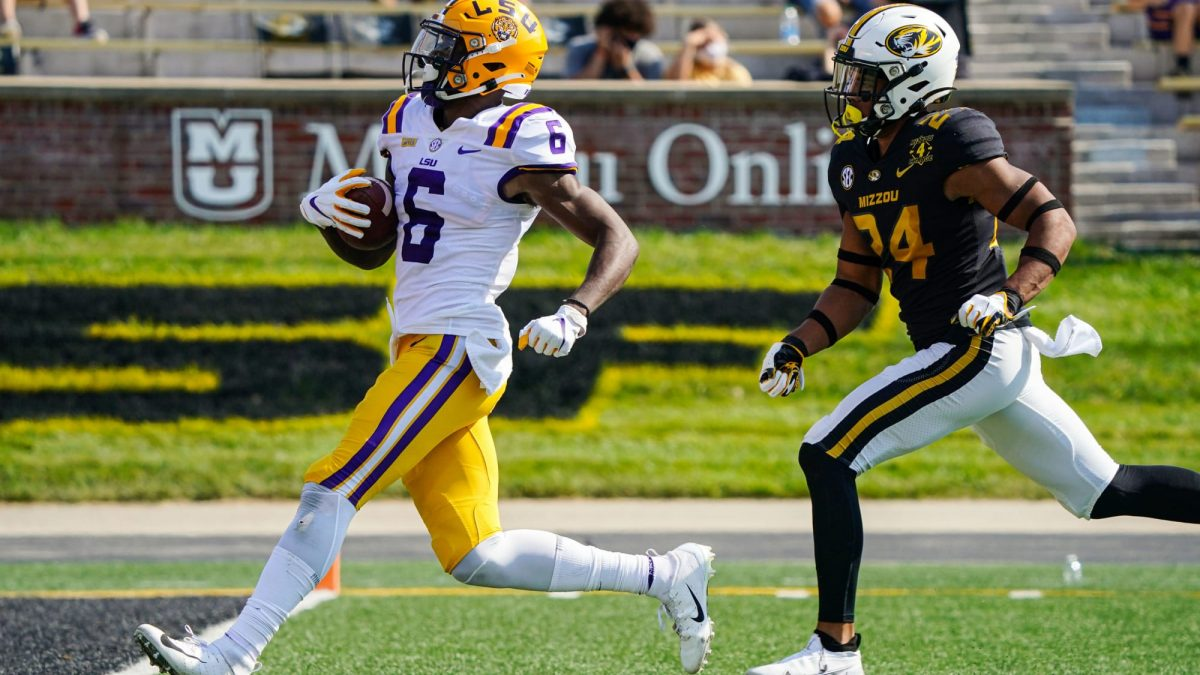 Abysmal defensive effort for LSU leads to 45-41 loss to Missouri